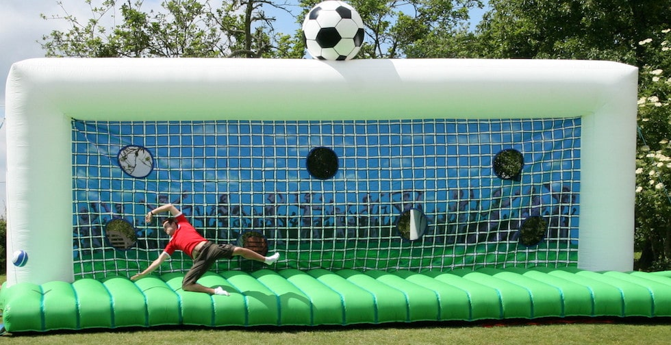 Soccer Penalty Shootout Hire Bbc Inflatables