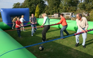 Human Table Football 1