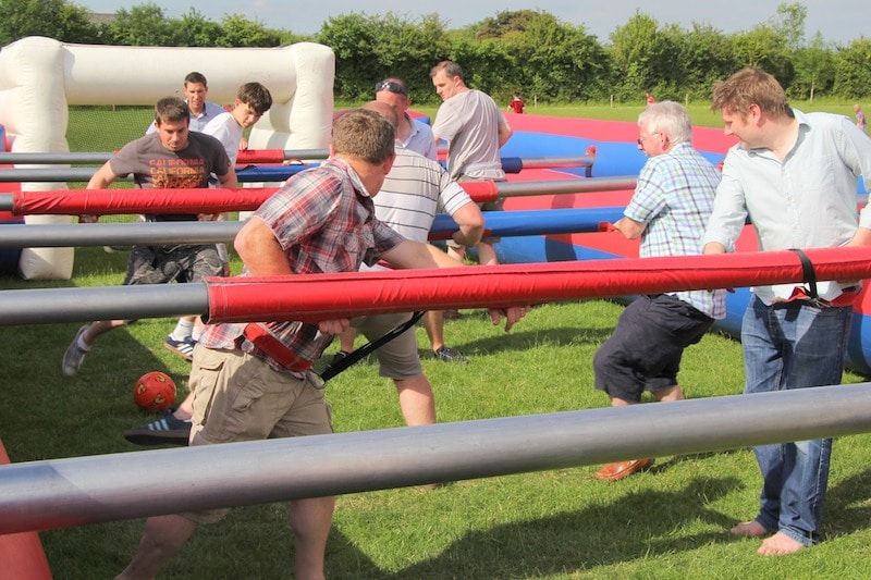 Human Table Football 2