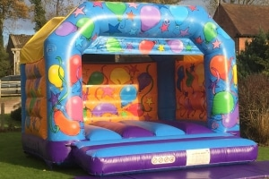 Party Balloons Children's Bouncy Castle