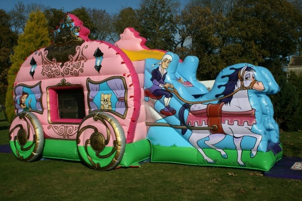 Princess Carriage Bounce and Slide