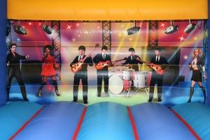 Rock Stars Adult Bouncy Castle