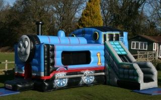Train Bouncy Castle
