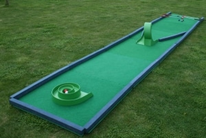 Crazy Golf Hole in 1