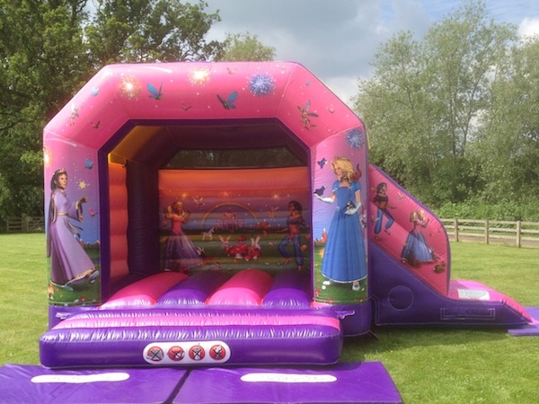 Princess Bouncy Castle and Slide