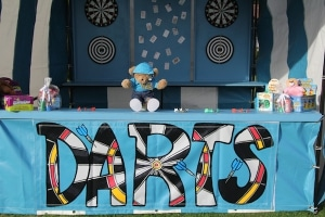 Fairground Darts Side Stall