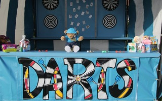 Fairground Darts Side Stall