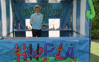 Hoopla side stall hire