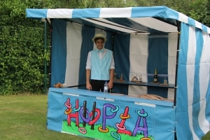 Hoopla side stall hire