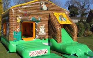 Farm Bounce Ball Pool and Slide