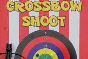 Crossbow Shootout Side Stall Game