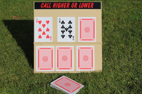 Higher or Lower Fete Game- Hire Price £15