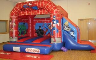 Hero Bounce n' Slide