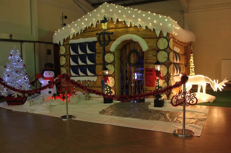 Santa S Grotto Bbc Inflatables