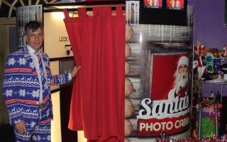Santa's Cabin Photo Booth