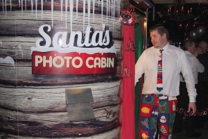 Santa's Cabin Photo Booth