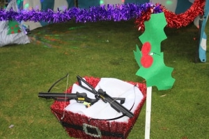 Christmas Crossbow Side Stall