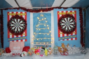 Christmas Darts Side Stall
