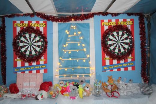 Christmas Darts Side Stall