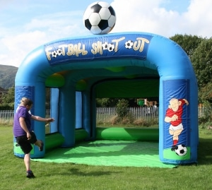 Football Speed Radar Shootout Arena