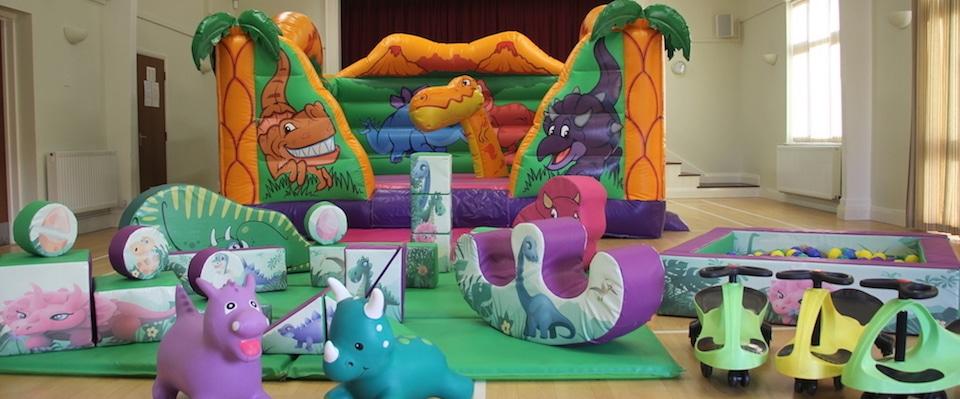 Dinosaur Bouncer Package