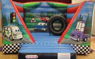 Automobile Bouncy Castle