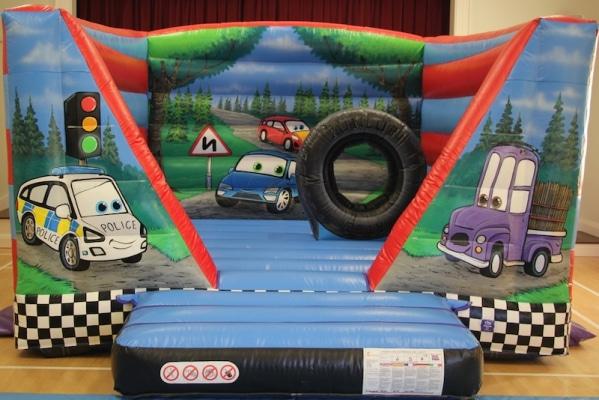 Automobile Bouncy Castle
