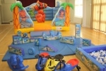 Sea Life Bouncer with Soft Play and Sea Swimmer Balloon (not included)