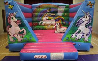 Unicorn Bouncy Castle