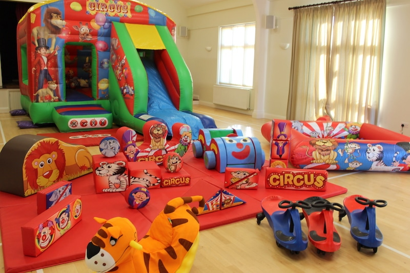 Circus Bounce n Slide Package