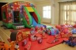 Circus Bounce n Slide Package