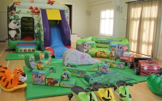 Jungle Bounce n Slide Soft Play Package Play Package