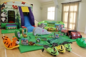 Jungle Bounce n Slide Soft Play Package