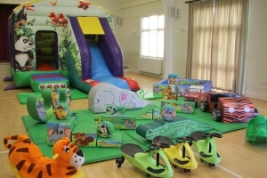 Jungle Bounce n Slide Soft Play Package_4207