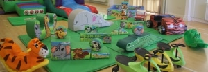 Jungle Bounce n Slide Soft Play Package_4223