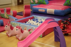 Unicorn Bouncer Soft Play Package