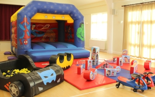 Hero Bouncer Soft Play Package