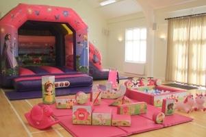 Princess Bounce n Slide Package