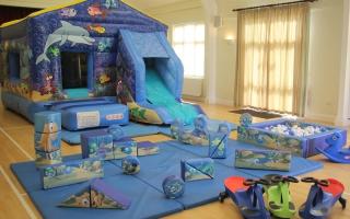 Sea World Bounce n Slide Package