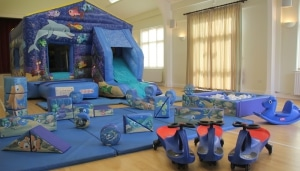 Sea World Bounce n Slide Package