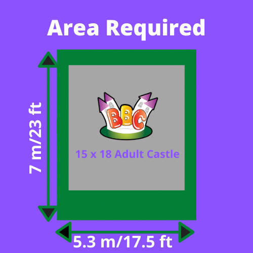 Adult 15x18 Bouncy Castle