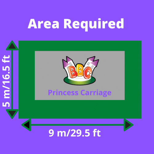 Princess Carriage Area Required