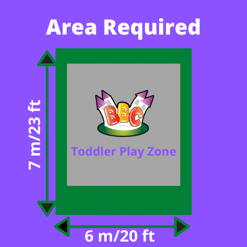 Toddler Play Zone Area Required