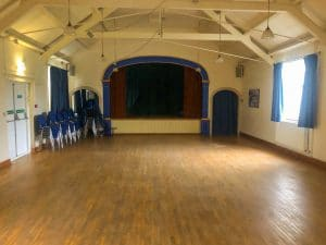 Beckford Village Hall Empty Hall
