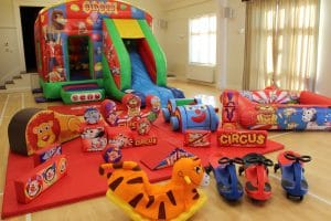 Circus Bounce and Slide Soft Play Package