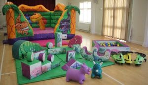 Dinosaur Bouncer Soft Play Package