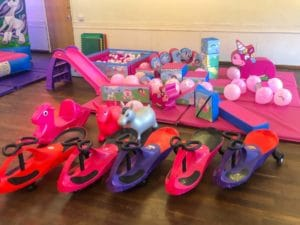 soft play in hall