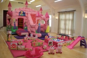 Enchanted Bounce and Slide Package
