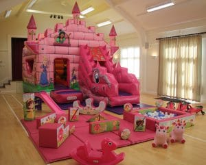 Fairytale Bounce and Slide Soft Play Package