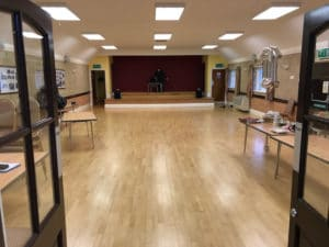 Hampton Lovett Village Hall Empty